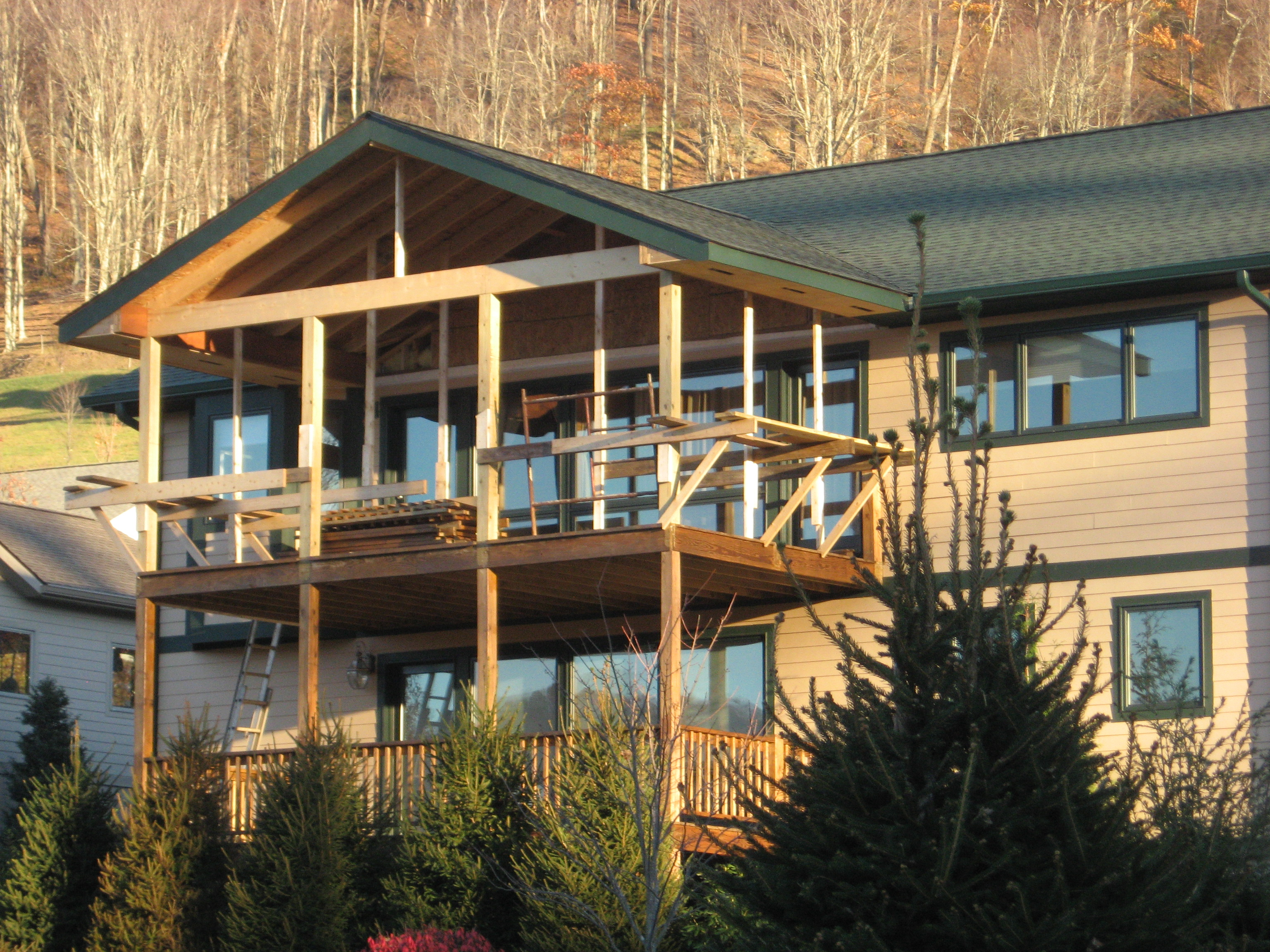 Sheppard family custom homes construction services for Banner elk home builders
